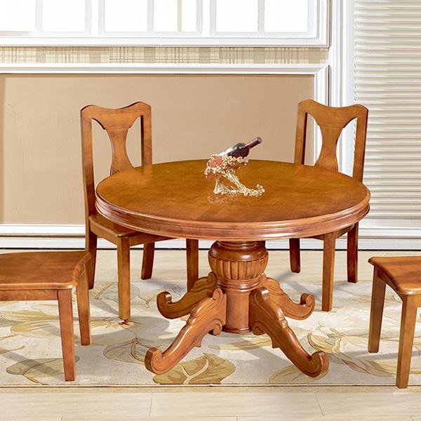 实木欧式大圆桌