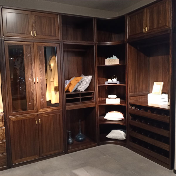 定制实木壁柜