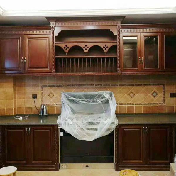 个性化厨房实木家具