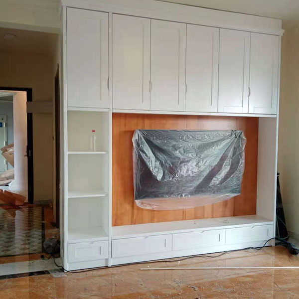 电视背景墙实木家具