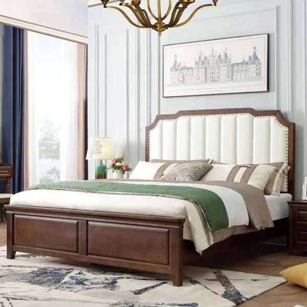干净明亮实木家具