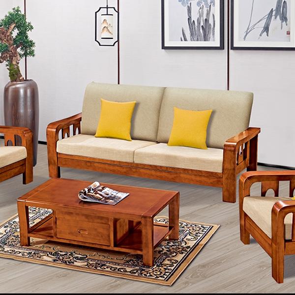 欧式实木沙发茶几