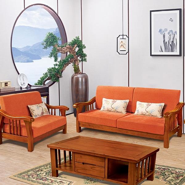 实木欧式沙发茶几