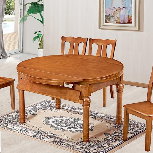 实木跳台餐桌