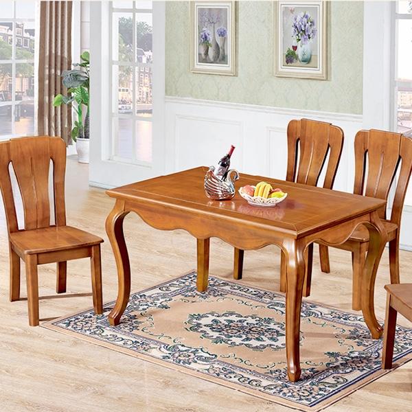 实木欧式餐桌