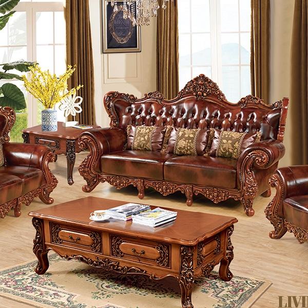 高档定制实木欧式沙发