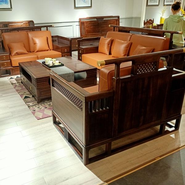 定制实木沙发