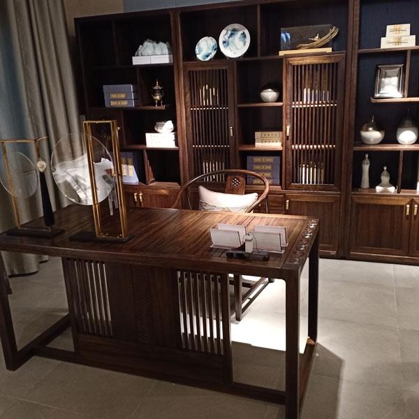 个性定制书房实木家具