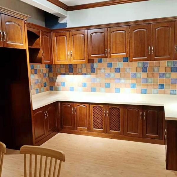 高端厨房实木家具