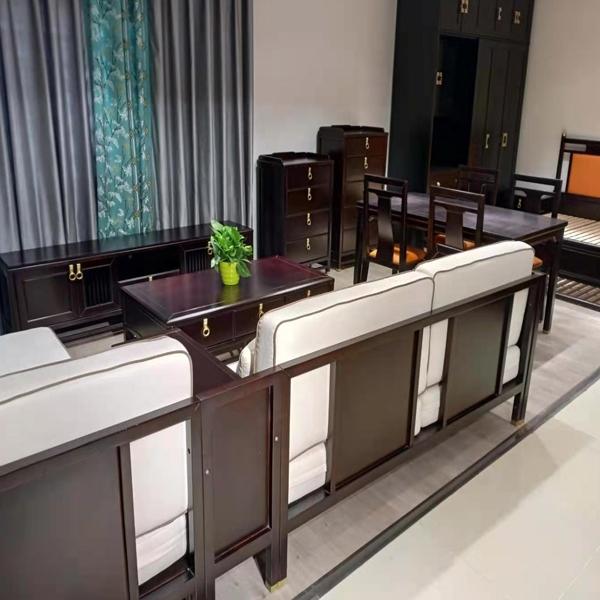 客厅实木家具定制