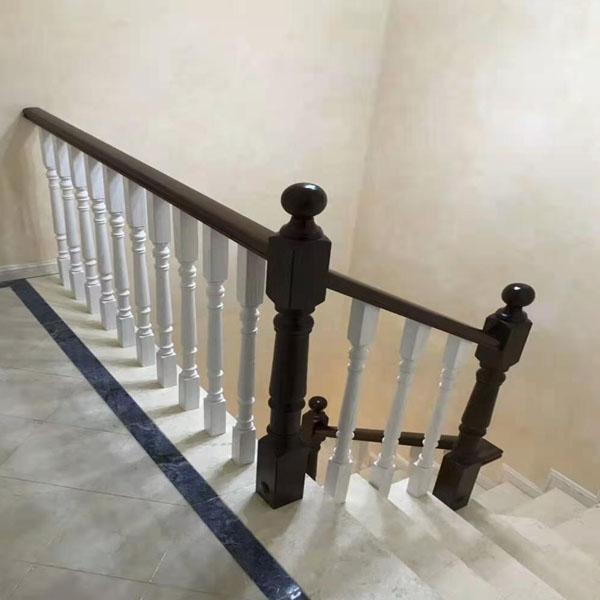 简洁楼梯实木